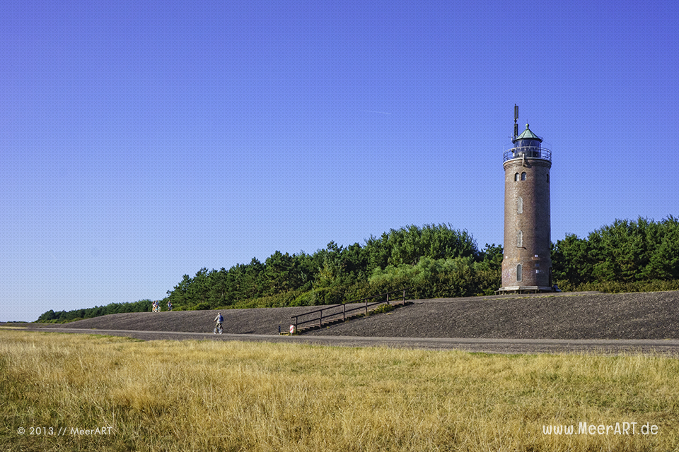 Der Böhler Leuchtturm in St. Peter-Ording // Foto: MeerART