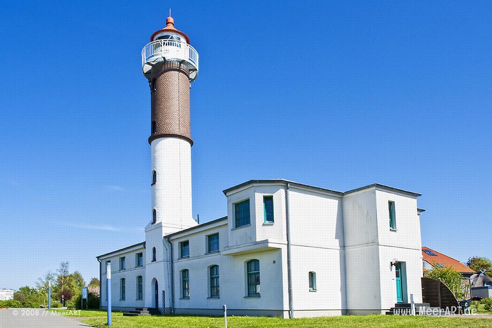 Leuchtturm in Timmendorf auf der Insel Poel // Foto: MeerART