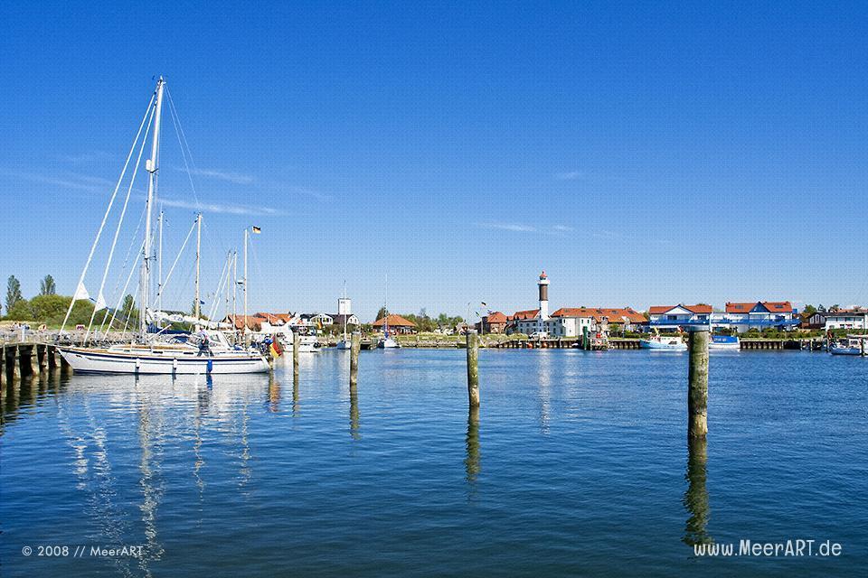 Hafen von Timmendorf auf der Insel Poel // Foto: MeerART