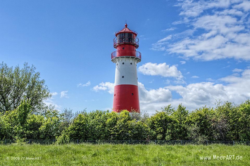 Leuchtturm in Falshoeft // Foto: MeerART