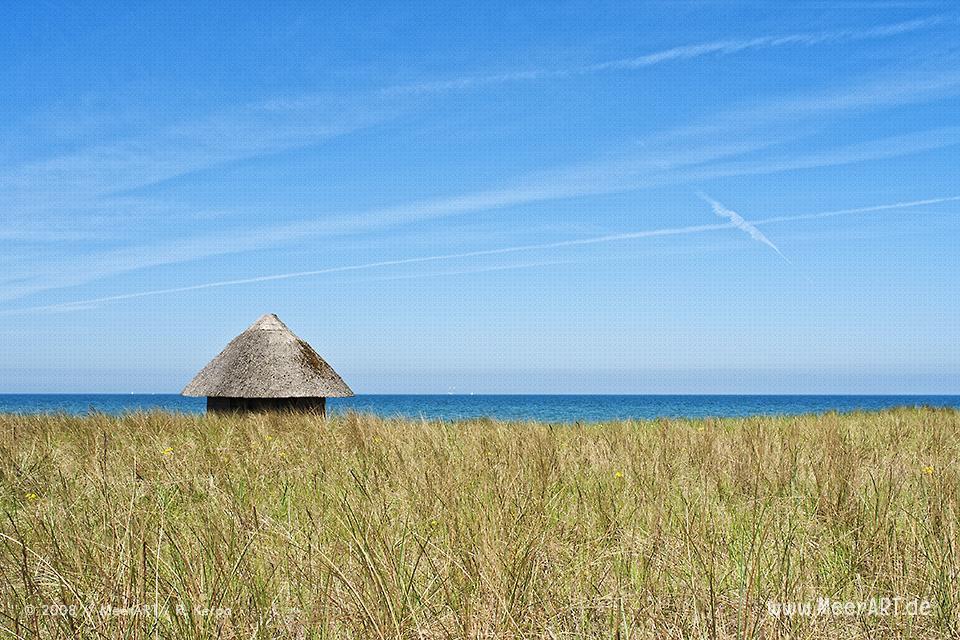 DLRG Haus an einem Strand an der Ostsee // Foto: R. Kerpa