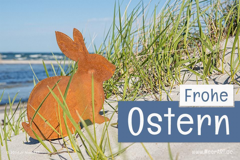 Wir wünschen euch Frohe Ostern // Foto: MeerART