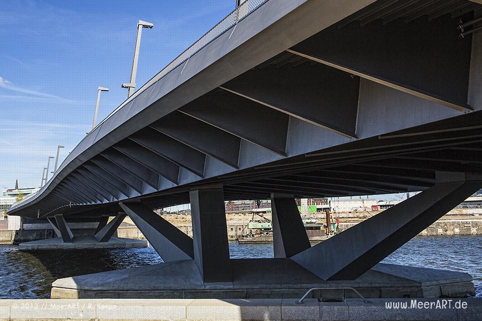 Die Baakenhafenbrücke in der Hamburger HafenCity // Foto: R. Kerpa