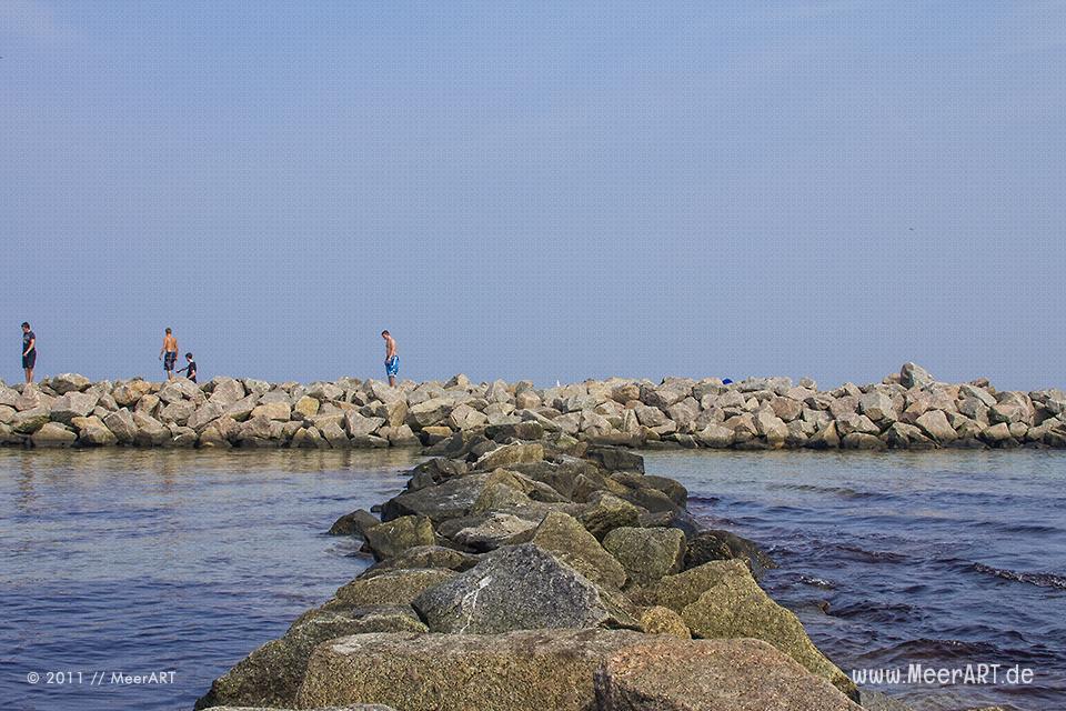 """Das idyllische """"Ostseebad Kalifornien"""" unweit vom Schöneberger Strand // Foto: MeerART"""