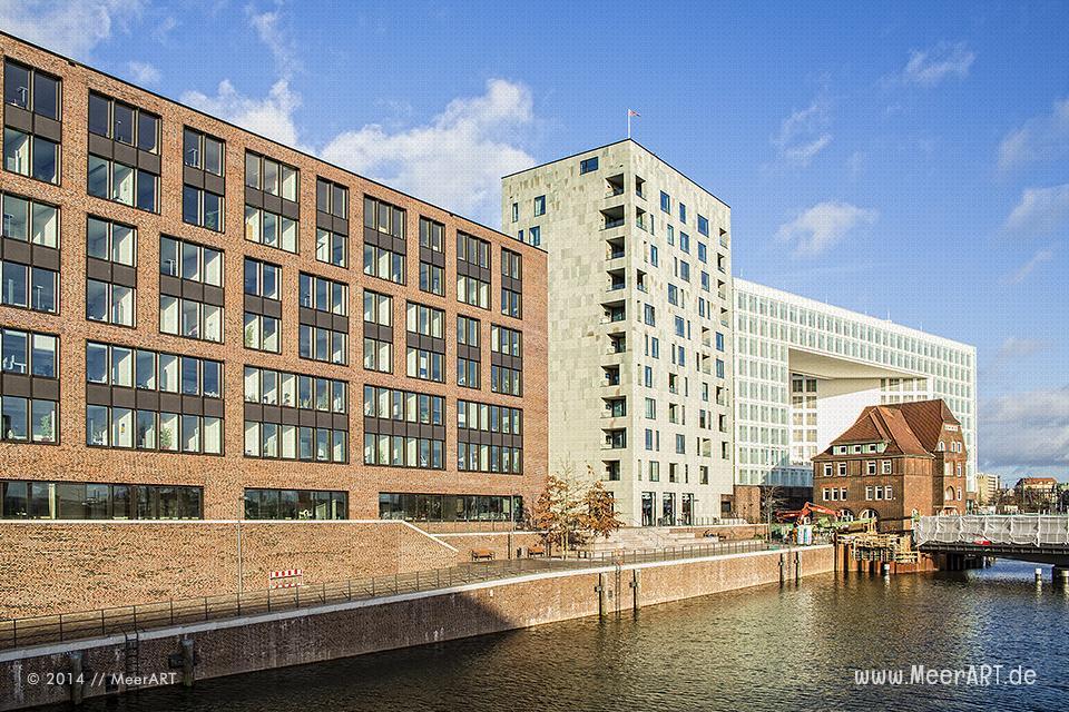 HafenCity: Das Quartier Brooktorkai/Ericus // Foto: MeerART