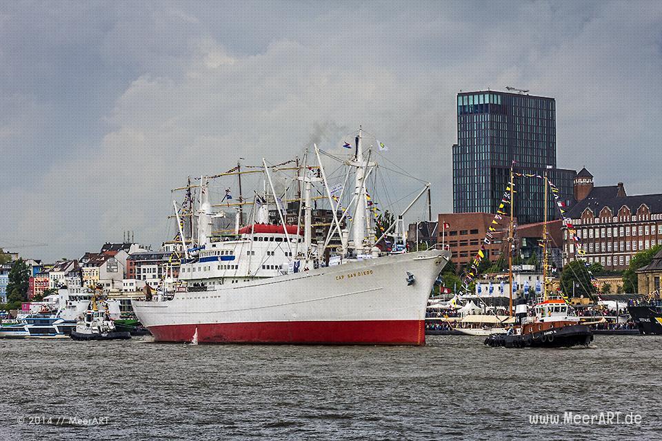 825. Hafengeburtstag in Hamburg // Foto: MeerART