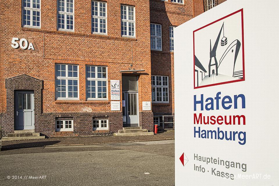 Das Hafenmuseum Hamburg im Hansahafen // Foto: MeerART