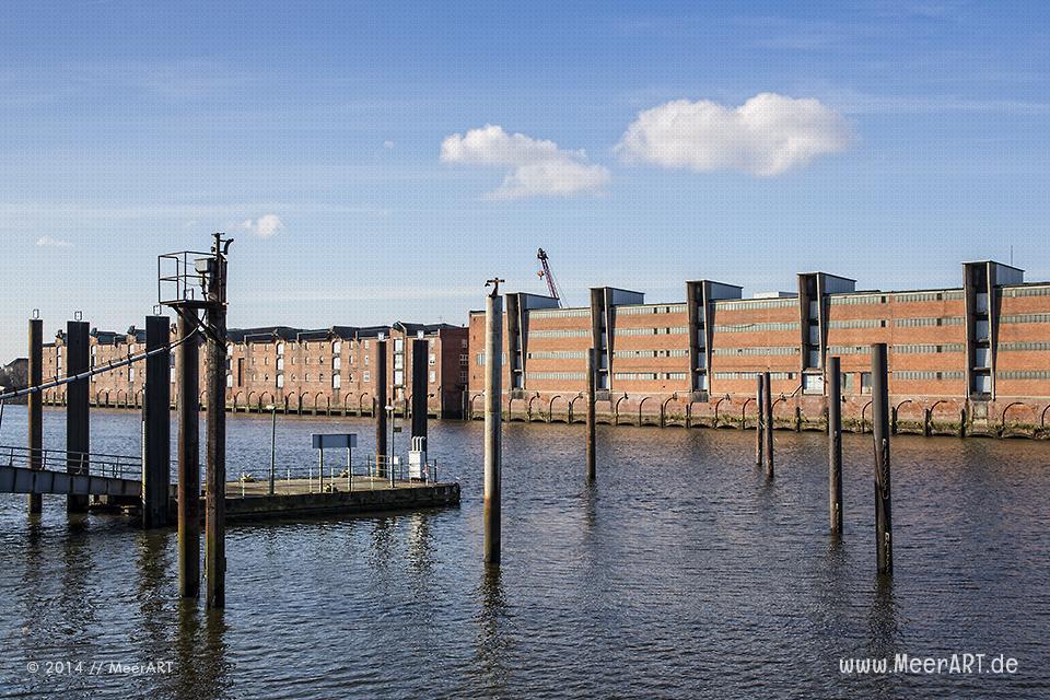 Der Tschechen-Hafen in Hamburg liegt im Dornröschenschlaf // Foto: MeerART