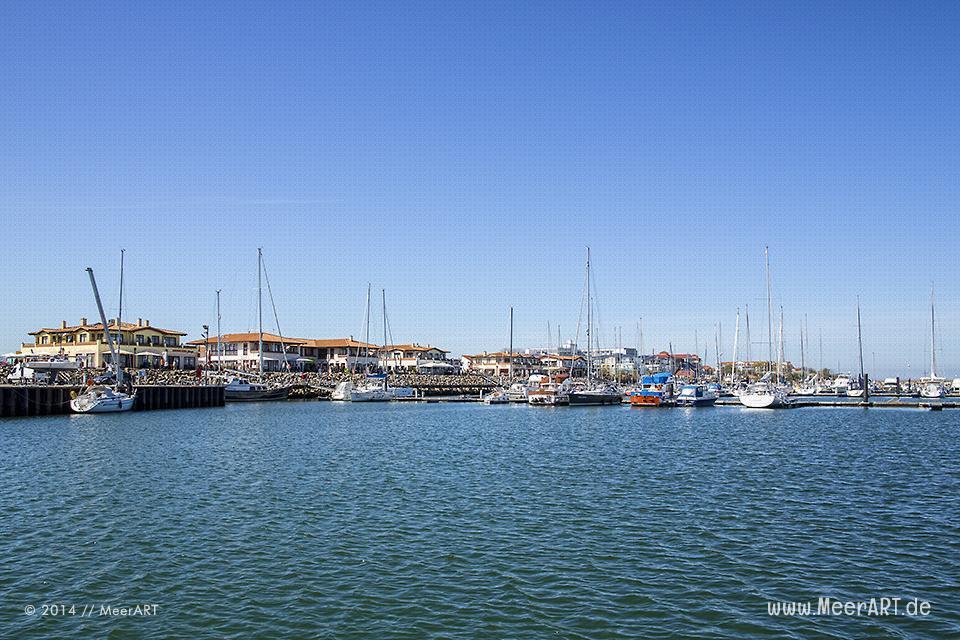 Der Bootshafen von Kühlungsborn // Foto: MeerART