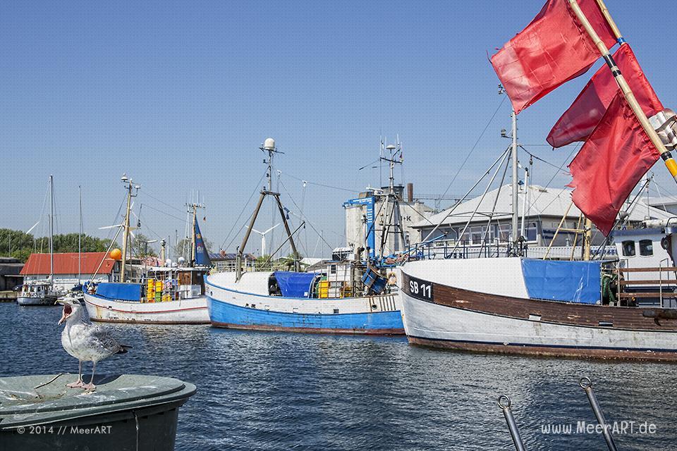 Der Erlebnis-Hafen Burgstaaken auf der schönen Ostseeinsel Fehmarn // Foto: MeerART