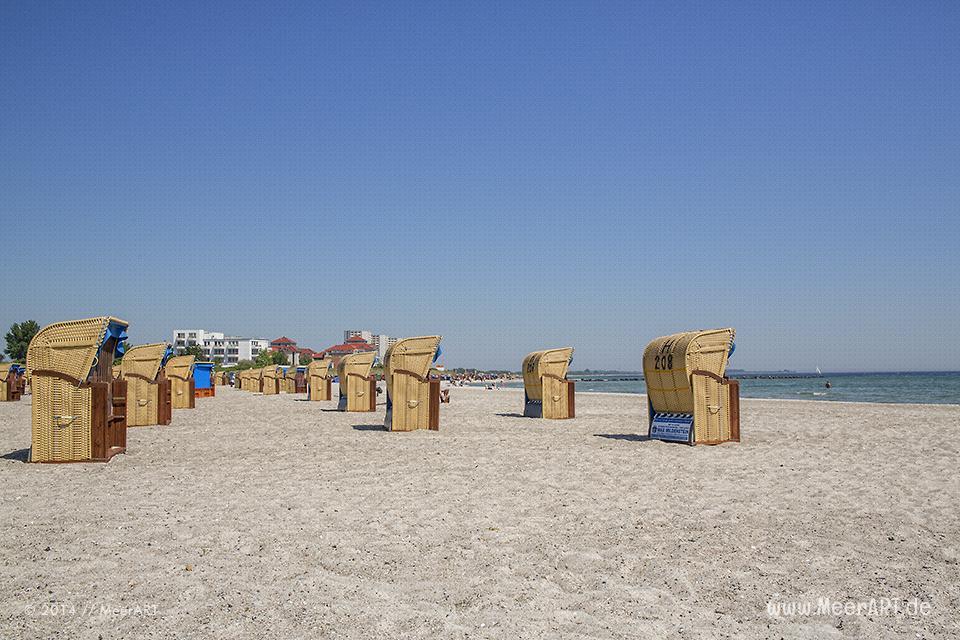 Strandabschnitt am Südstrand auf der Ostseeinsel Fehmarn // Foto: MeerArt