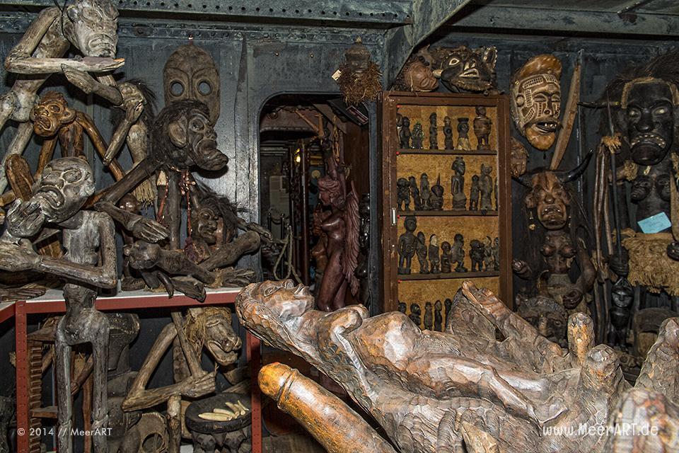 Hamburg: Ein Besuch im Harrys Hamburger Hafenbasar & Museum // Foto: MeerART