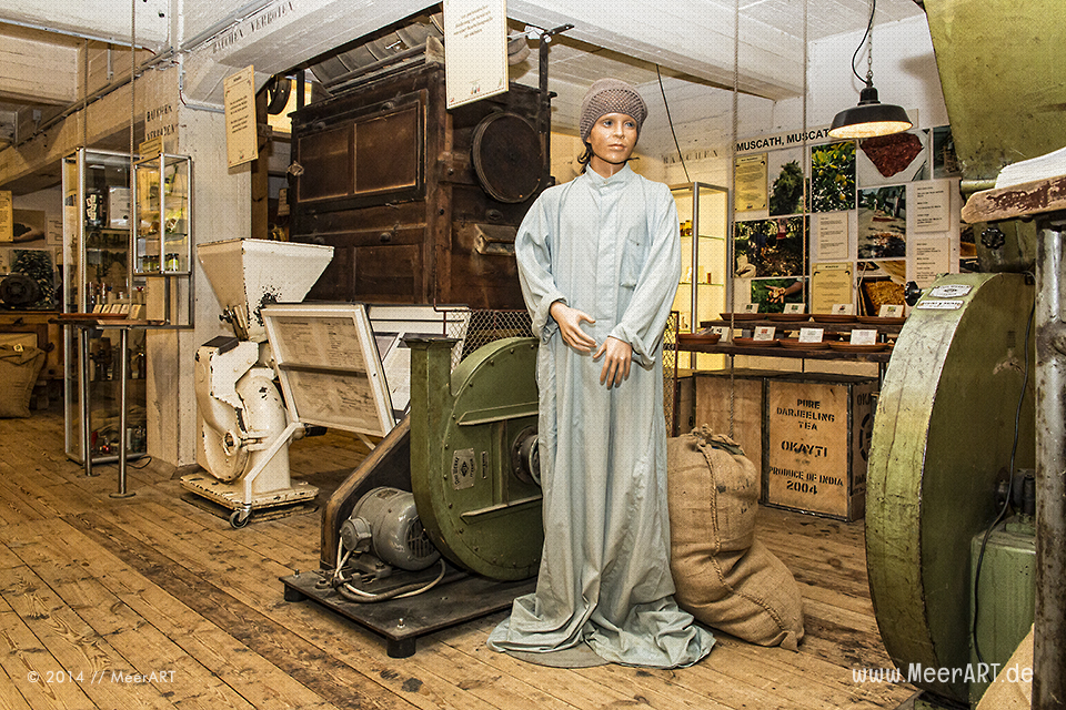 Hamburg: Spicy´s Gewürzmuseum - Ein Erlebnis für die Sinne // Foto: MeerART