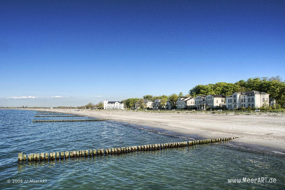 Villen an der Ostsee am Strand in Heiligendamm // Foto: MeerART