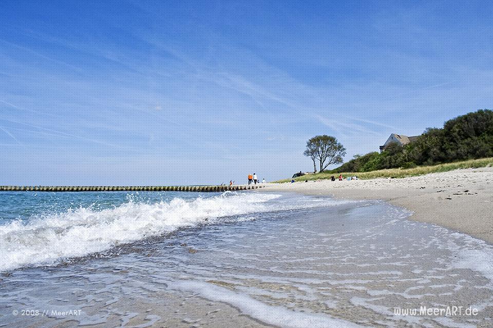 Strandabschnitt bei Ahrenshoop // Foto: MeerART