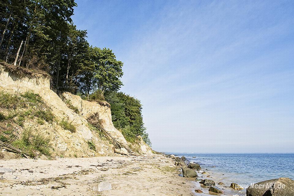 Steilküste bei Travemünde // Foto: MeerART