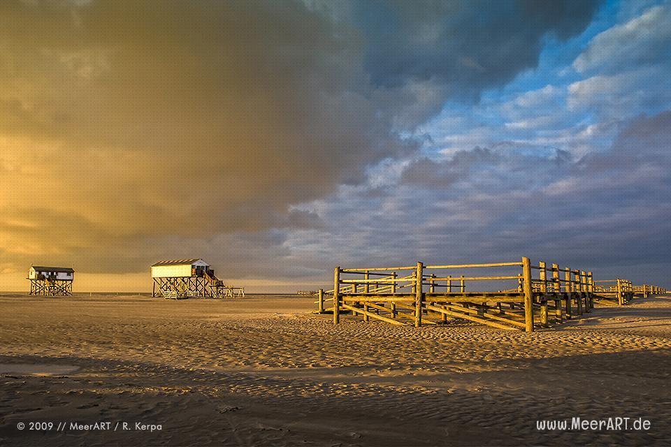 Strandlandschaft an der Nordsee im Frühjahr // Foto: R. Kerpa