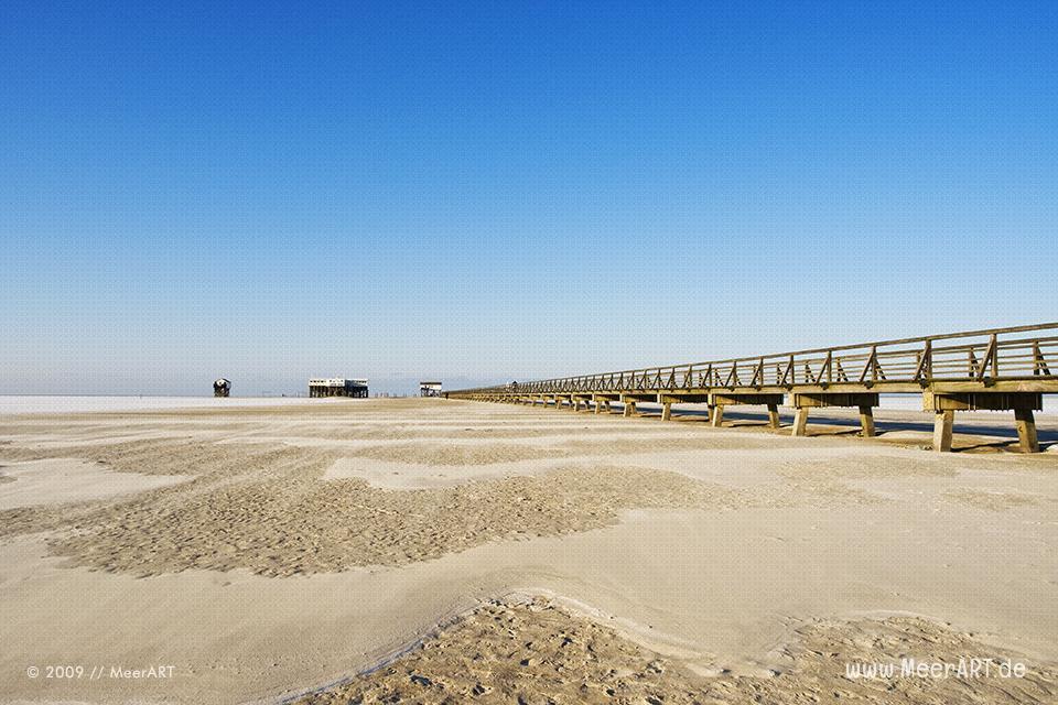 Strandlandschaft an der Nordsee im Frühjahr // Foto: MeerART