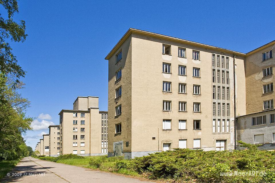 Ehemalige KdF-Ferienanlage in Prora auf der Inssel Rügen // Foto: MeerART