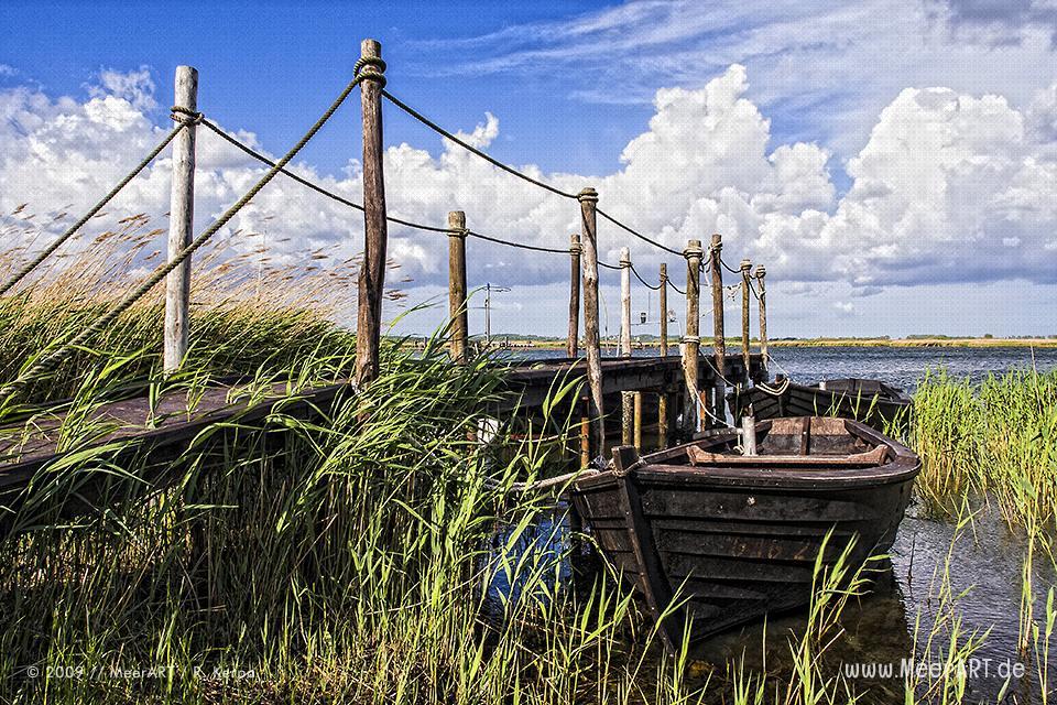 Steg mit Fischerbooten in Gager // Foto: R. Kerpa