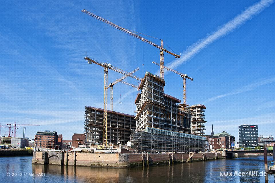 Der SPIEGEL Neubau in der Hamburger Hafencity // Foto: MeerART