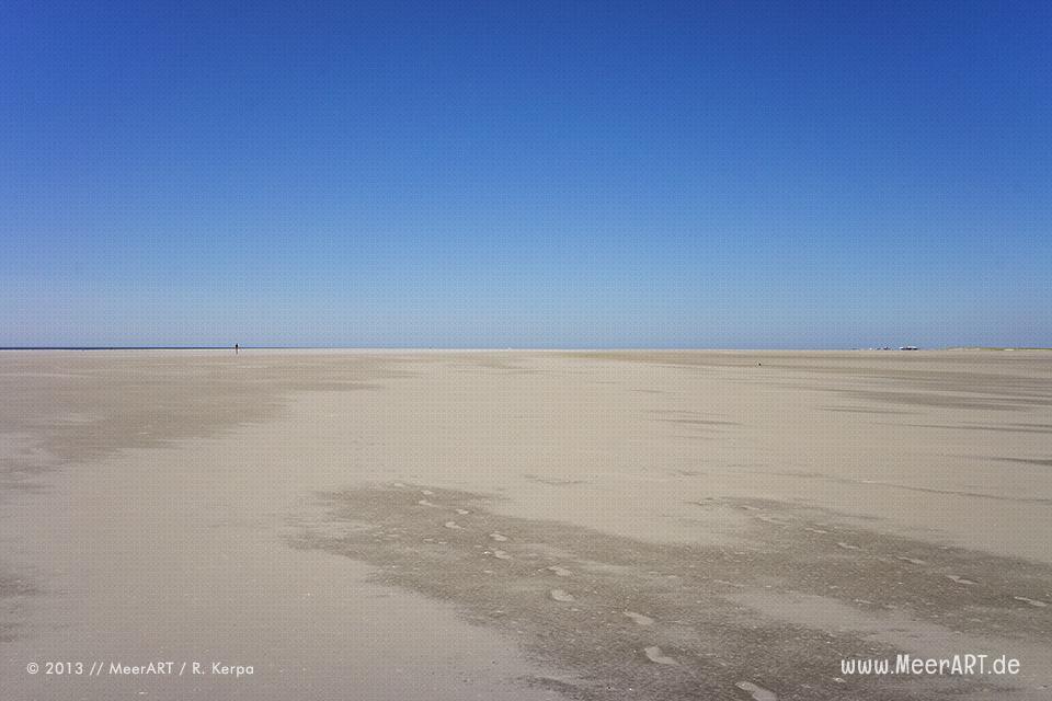 Die unendliche Weite am Strand von St. Peter-Ording // Foto: R. Kerpa