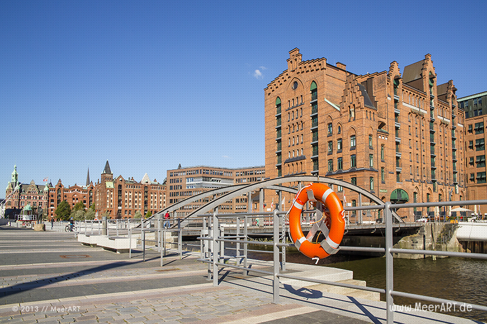 Das Maritime Museum am Überseequartier in der HafenCity von Hamburg // Foto: MeerART