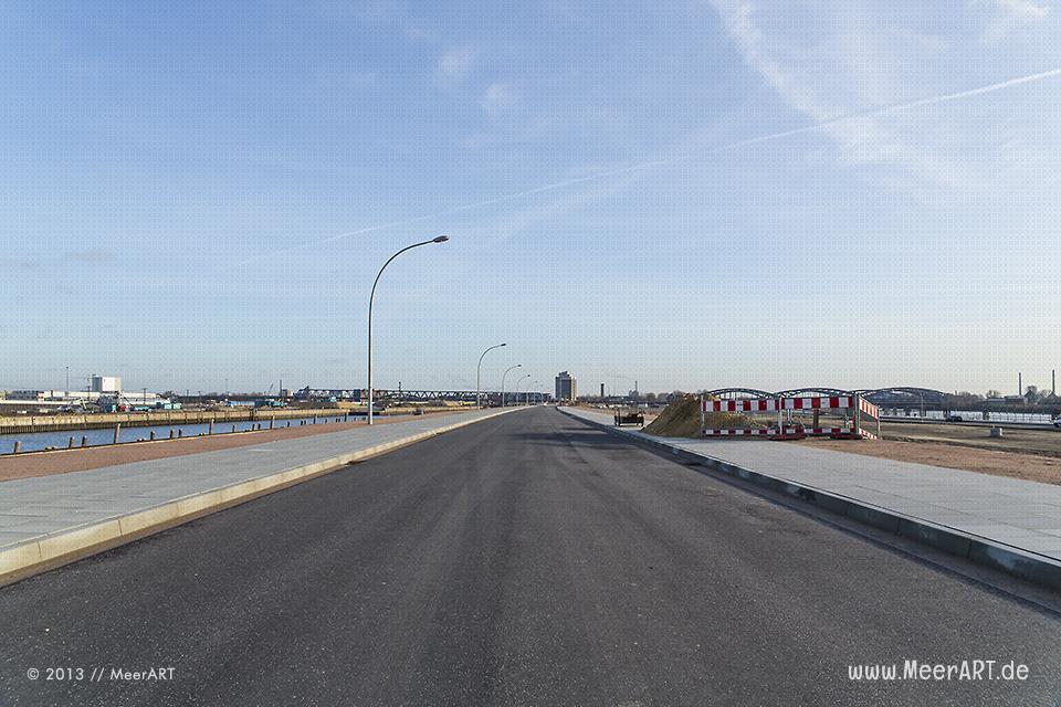 Baustelle am Baakenhafen in der HafenCity // Foto: MeerART