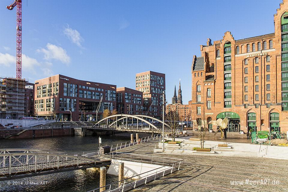 Magdeburger Hafen im Elbtorquartier // Foto: MeerART