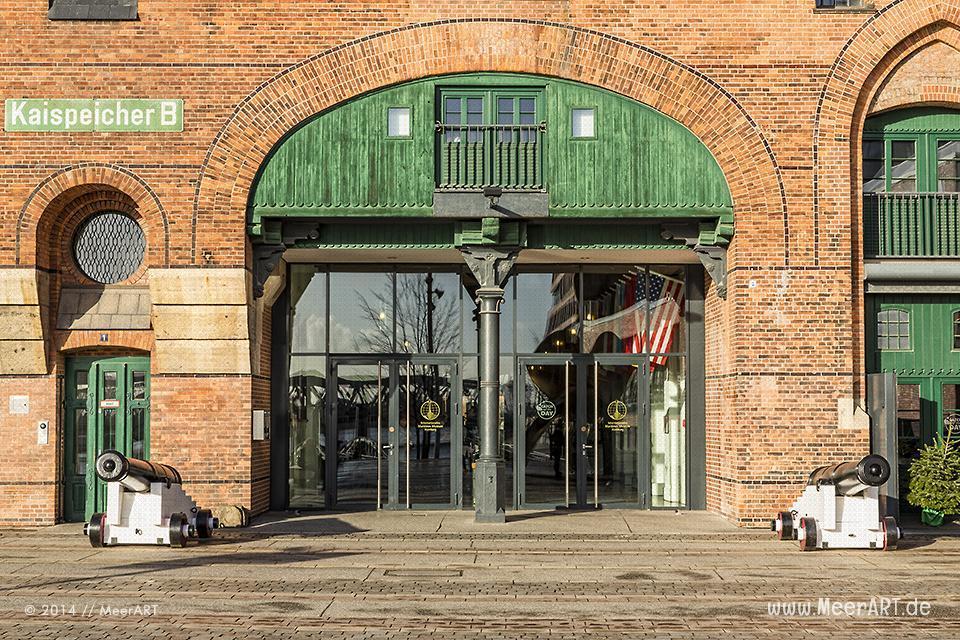 Eingang vom Maritimen Museum // Foto: MeerART