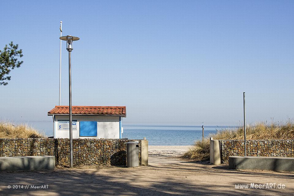 Zugang zum Strand an der Ostsee in Timmendorfer Strand // Foto: MeerART