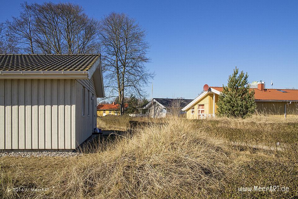 """Ferienhäuser im Ferienpark """"Landal"""" auf den Priwall in Travemünde // Foto: MeerART"""