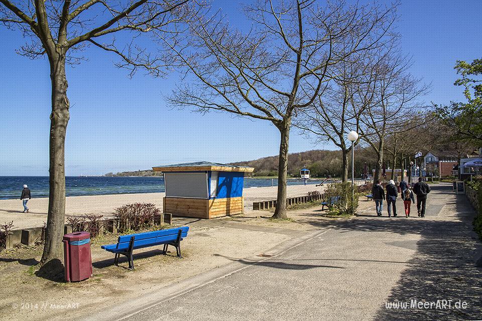 Strandlandschaft an der Ostseeküste in Heikendorf/Möltenort // Foto: MeerART