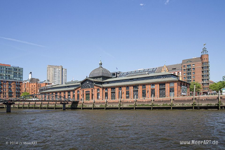 Fischauktionshalle am Altonaer Fischmarkt im Hamburger Hafen // Foto: MeerART