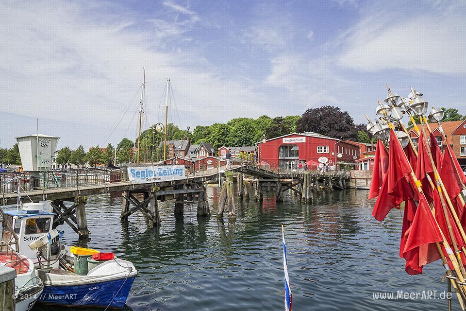 Impressionen aus dem Hafen von Eckernförde // Foto: MeerART