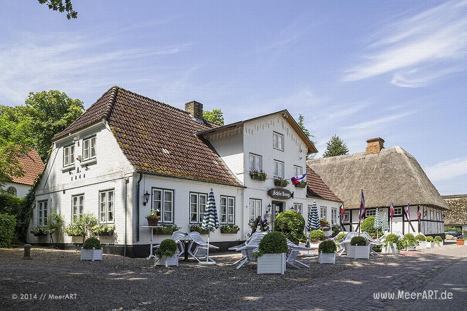 Der malerische Ort Sieseby direkt an der Schlei // Foto: MeerART