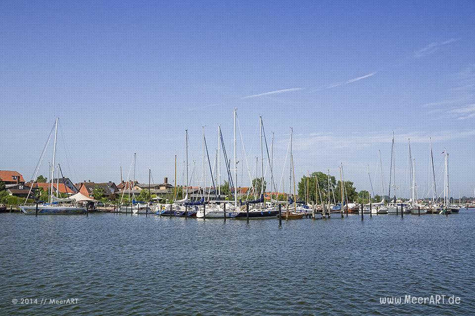 Arnis – die idyllische Stadt auf einer Halbinsel an dem Ostseefjord Schlei // Foto: MeerART