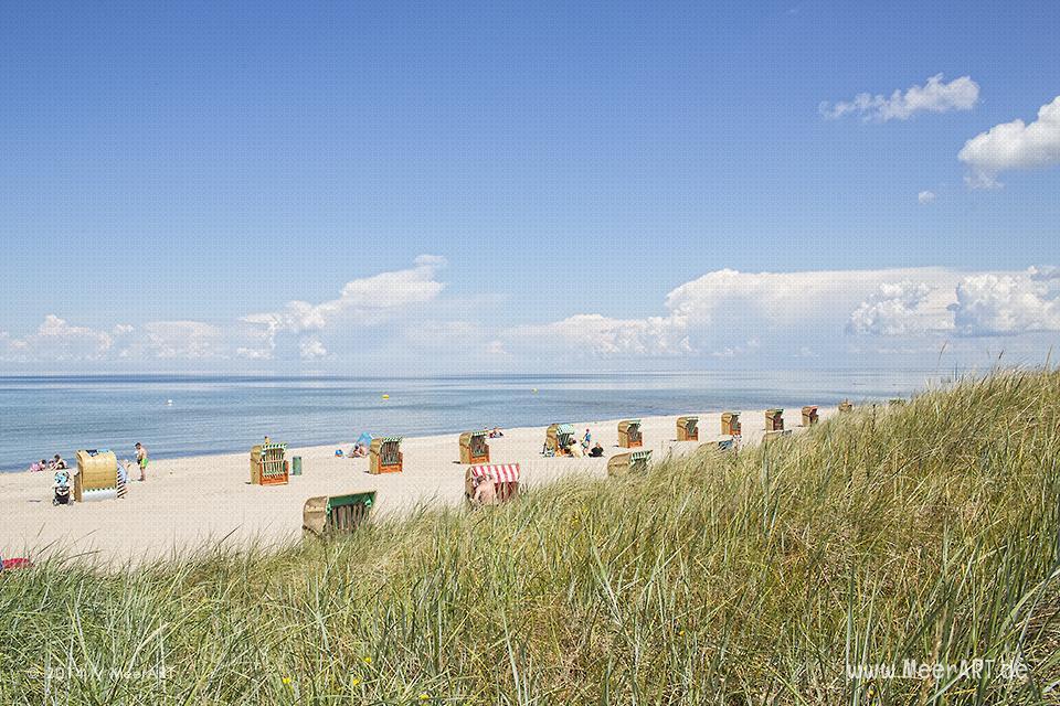 Der Ferien- und Freizeitpark Weißenhäuser Strand an der Ostsee // Foto: MeerART