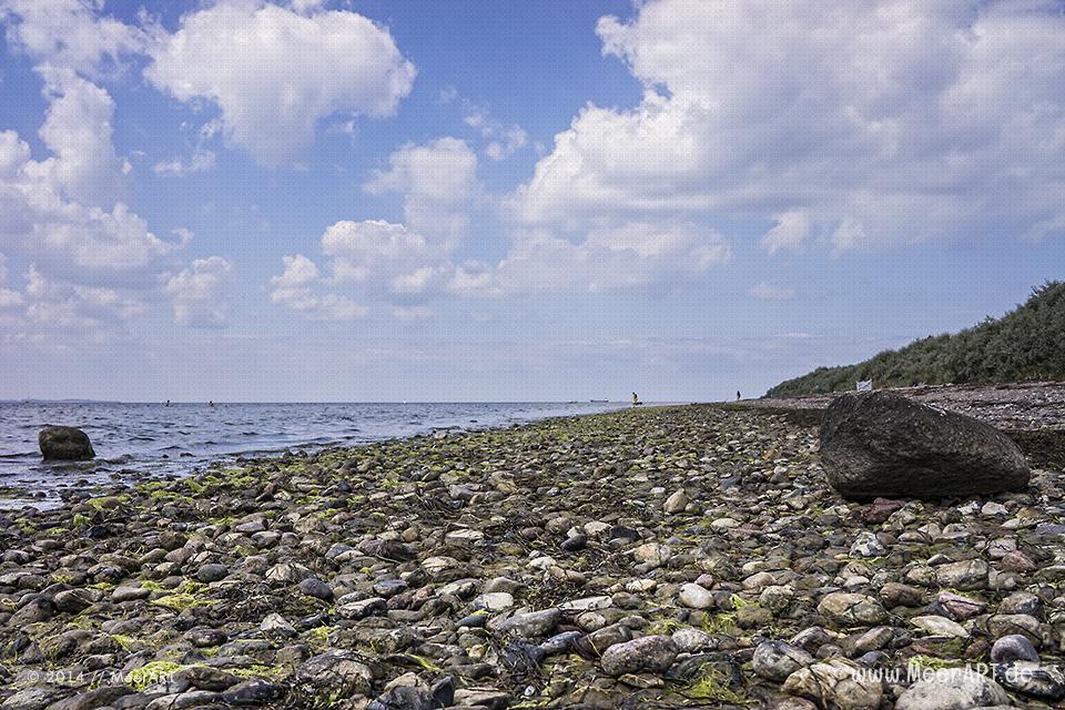 Naturstrand bei Hinter Wangern auf der Insel Poel // Foto: MeerART
