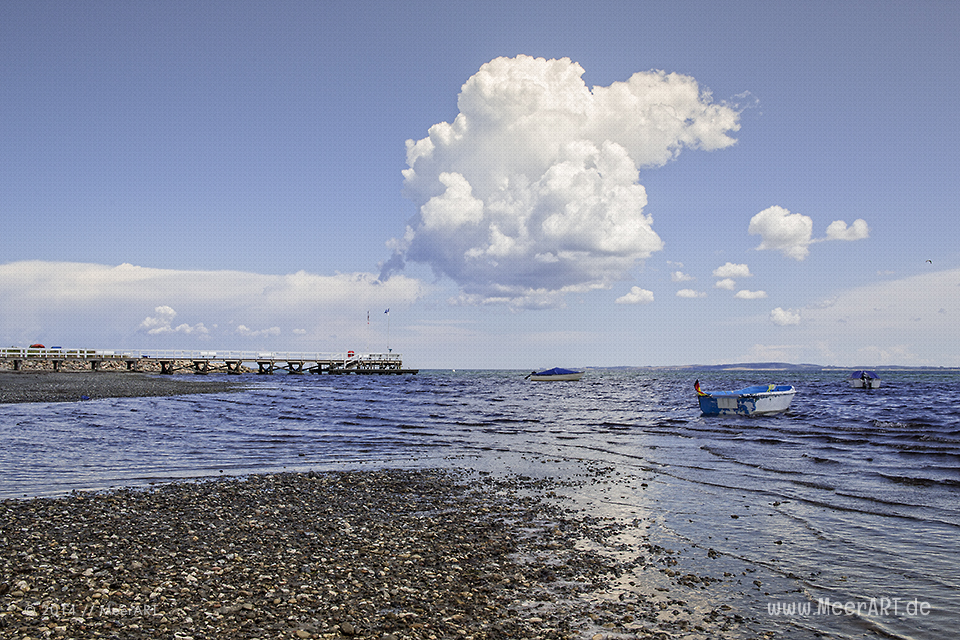 Impressionen aus dem schönen Hohwacht an der Ostsee // Foto: MeerART