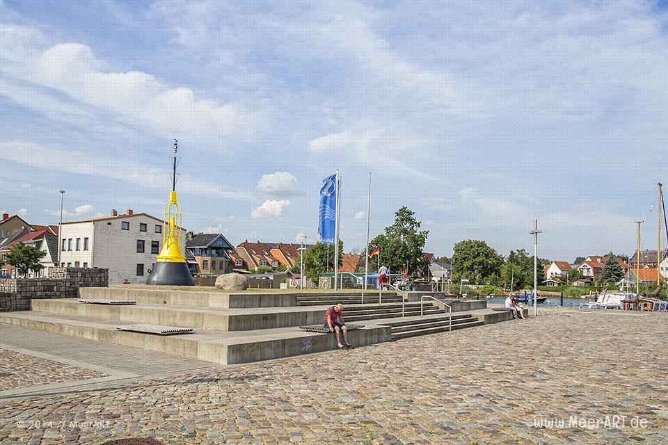 Impressionen vom Stadthafen am Rand der Altstadt von Schleswig // Foto: MeerART