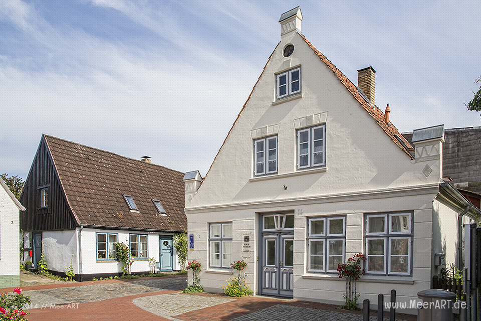 Impressionen aus dem alten Fischerviertel Holm am Rand der Altstadt von Schleswig // Foto: MeerART