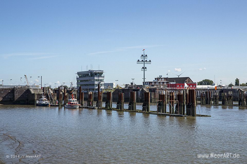 Impressionen an der Schleuse zum Nord-Ostsee-Kanal in Brunsbüttel // Foto: MeerART