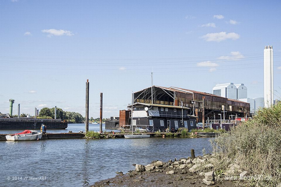 Impressionen aus dem Holzhafen in Hamburg-Moorfleet // Foto: MeerART