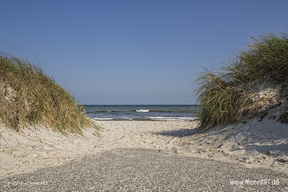Strandaufgang in Schönberg-Brasilien // Foto: MeerART