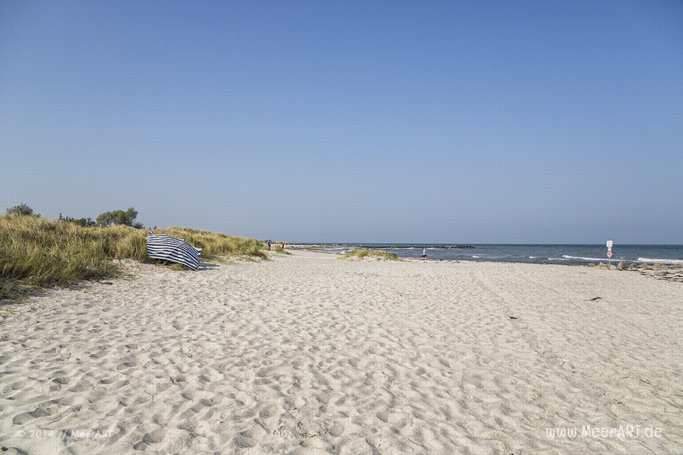 Strandabschnitt in Schönberg-Brasilien // Foto: MeerART