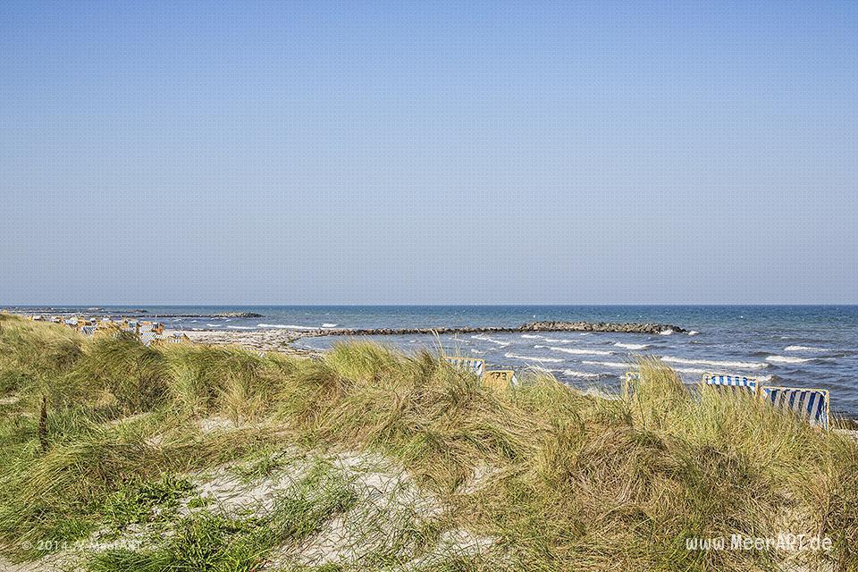 Impressionen vom Schönberger Strand // Foto: MeerART