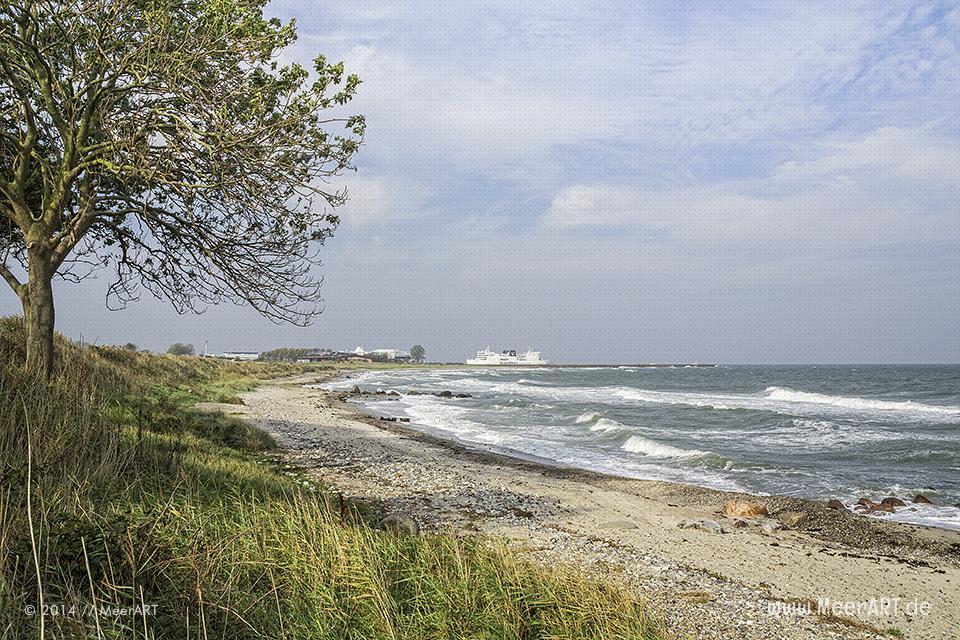 Ein wirklich sehr idyllischer Naturstrand in Marienleuchte auf der Ostseeinsel Fehmarn // Foto: R. Kerpa