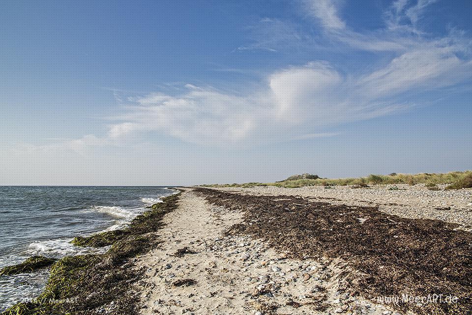 Impressionen vom wunderschönen Flügger-Strand auf Fehmarn // Foto: MeerART