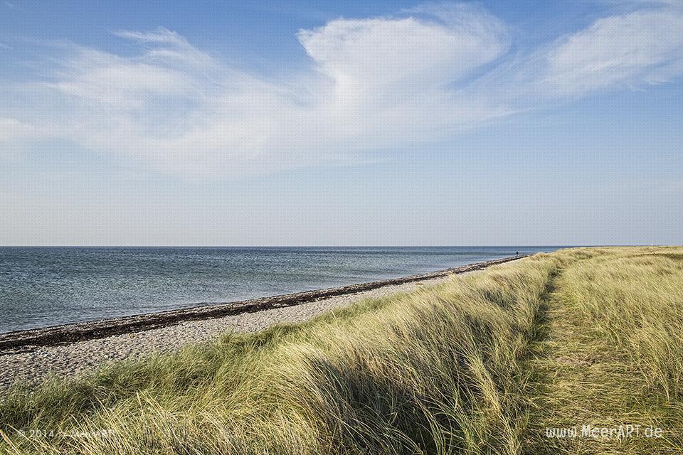 Flügger-Strand auf Fehmarn // Foto: MeerART